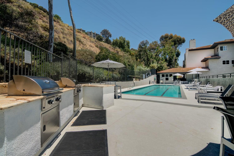 Pool at Fashion Terrace in San Diego, CA
