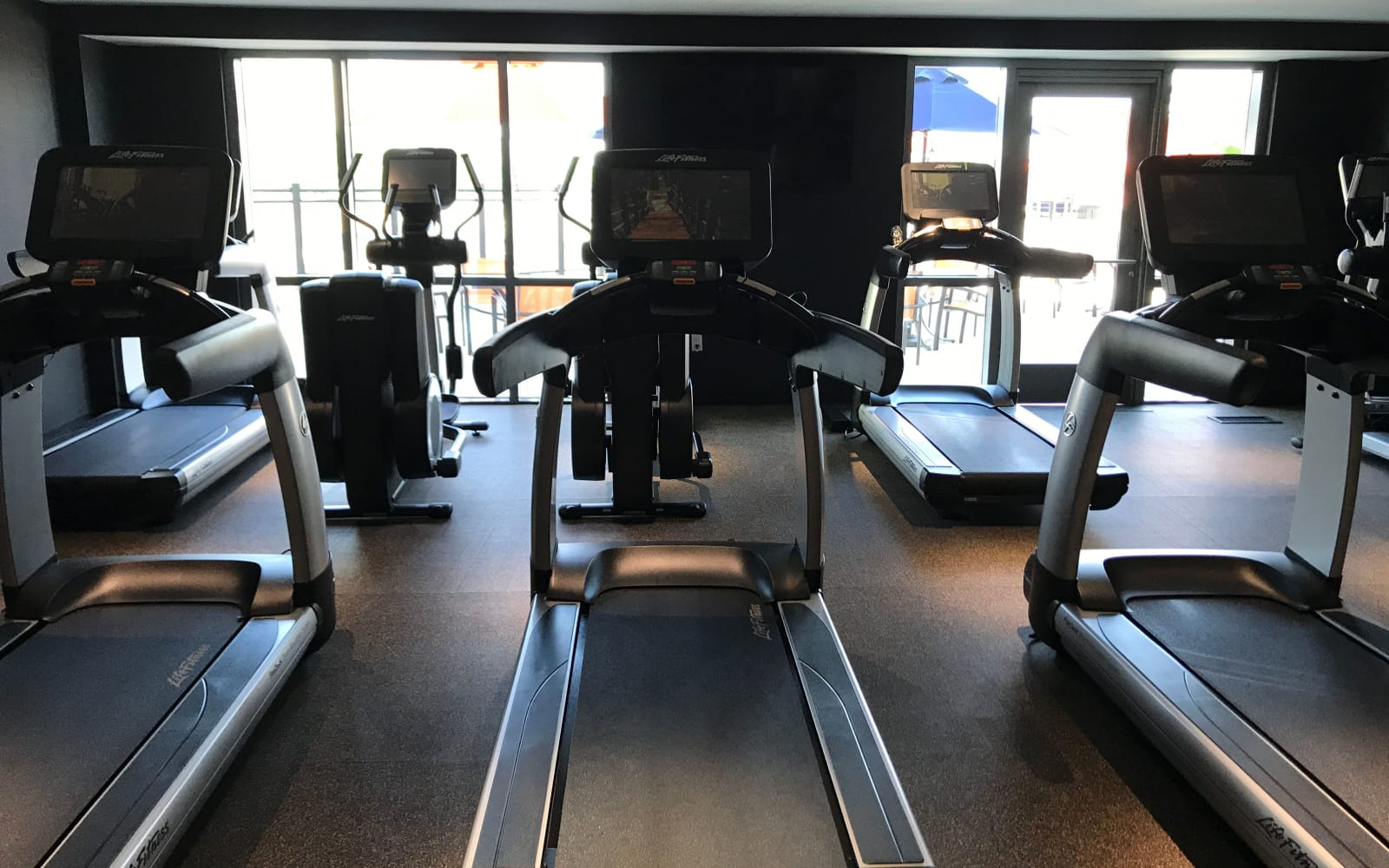 Gym at The Centre in Cliffside Park, NJ