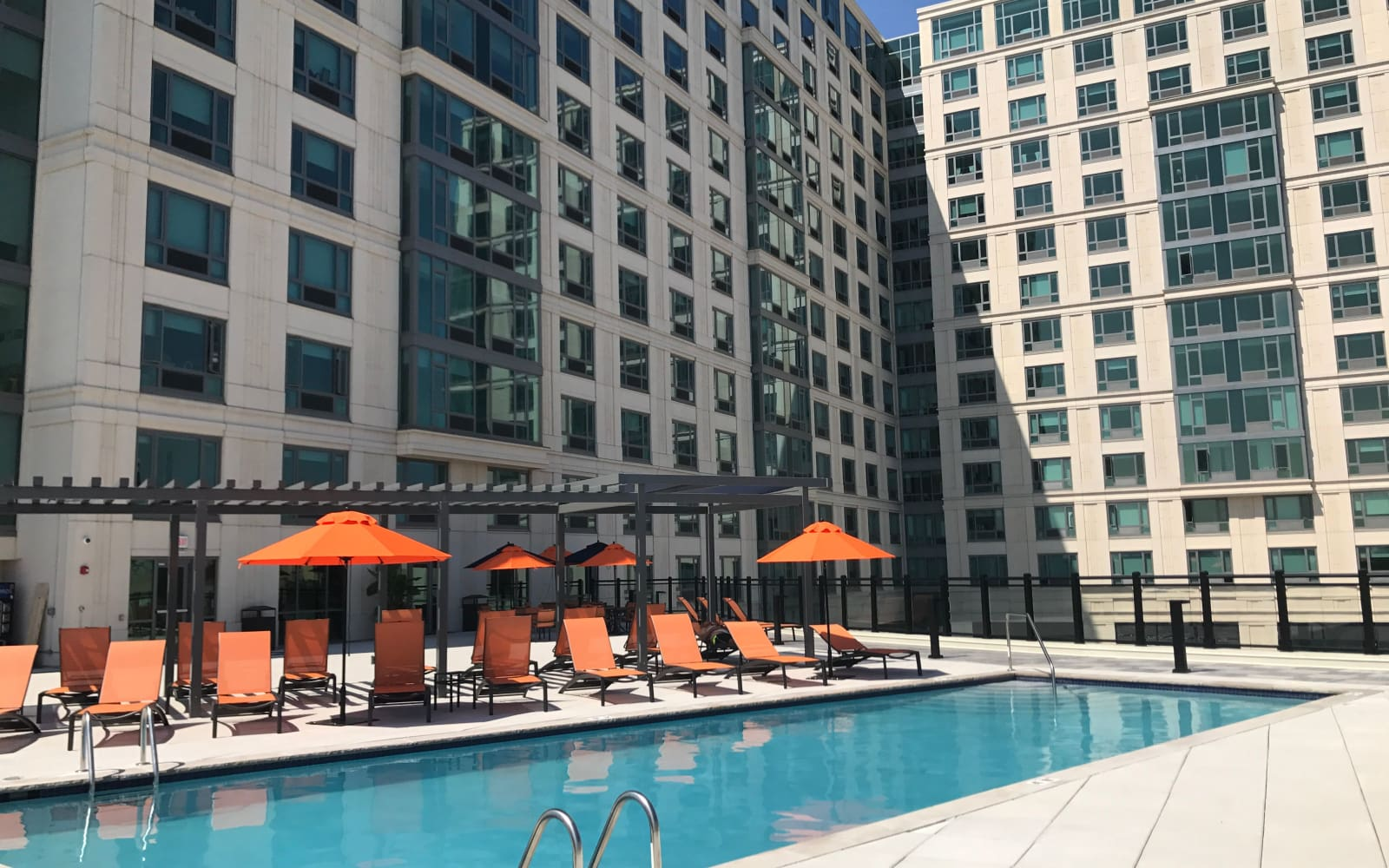 Pool at The Centre in Cliffside Park, NJ
