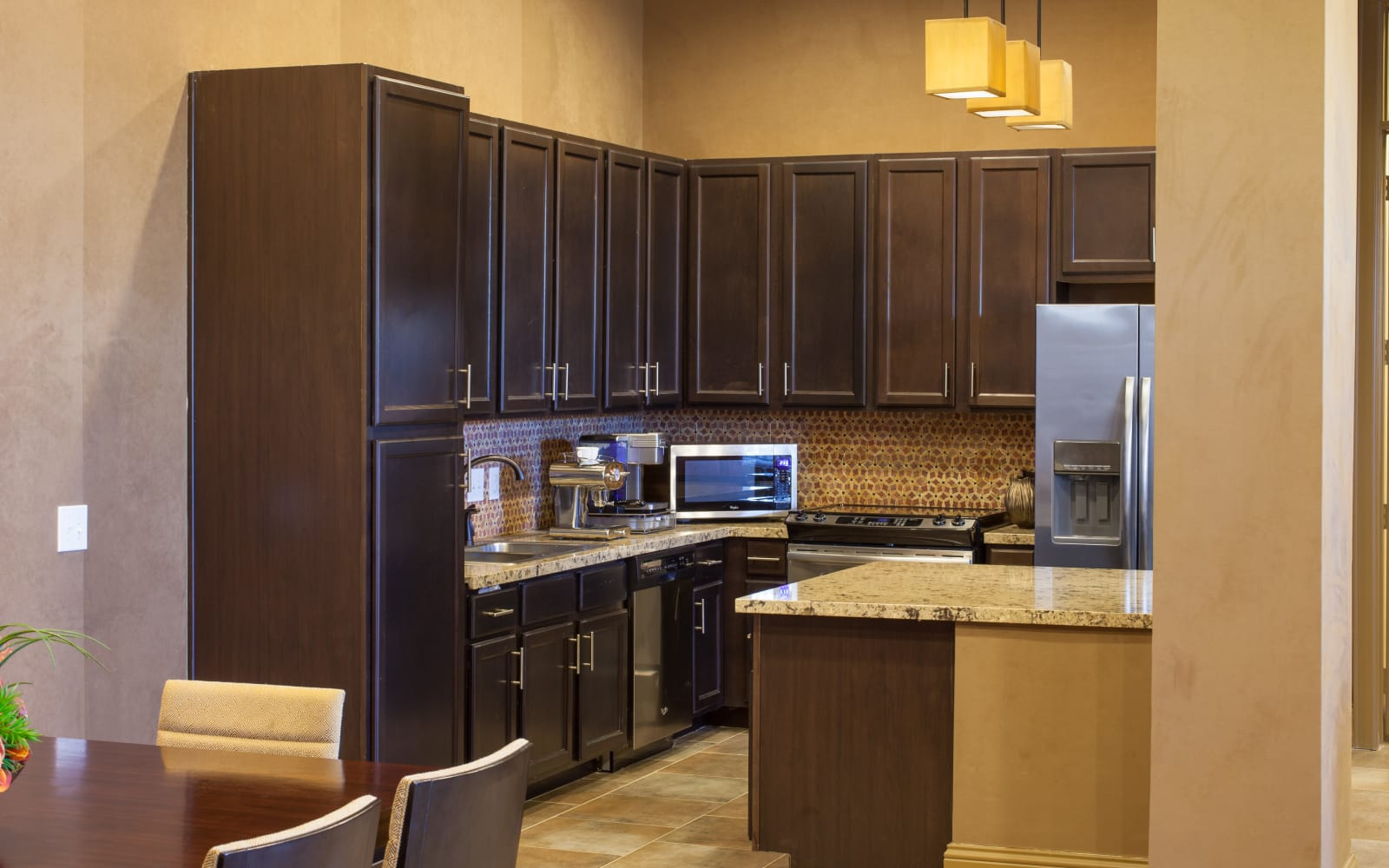 Kitchen at The High Grove in Baton Rouge, Louisiana