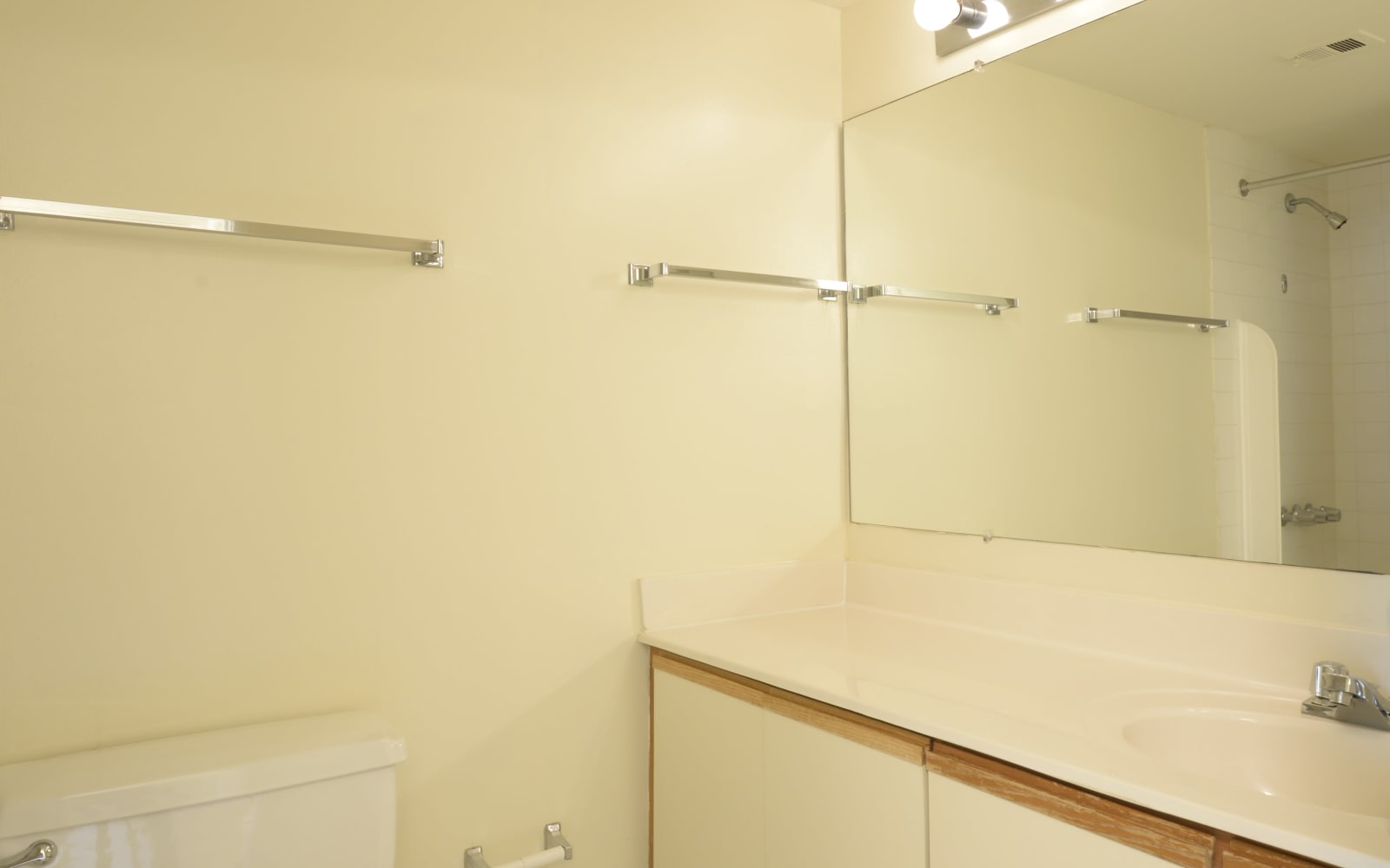 Bathroom at Charlesgate Apartments in Towson, Maryland