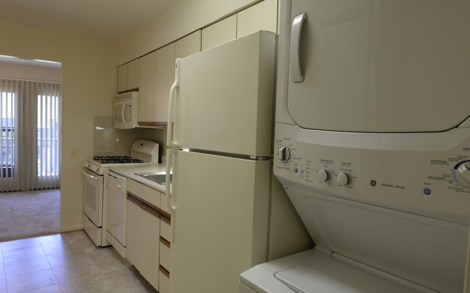 Kitchen at Charlesgate Apartments in Towson, Maryland