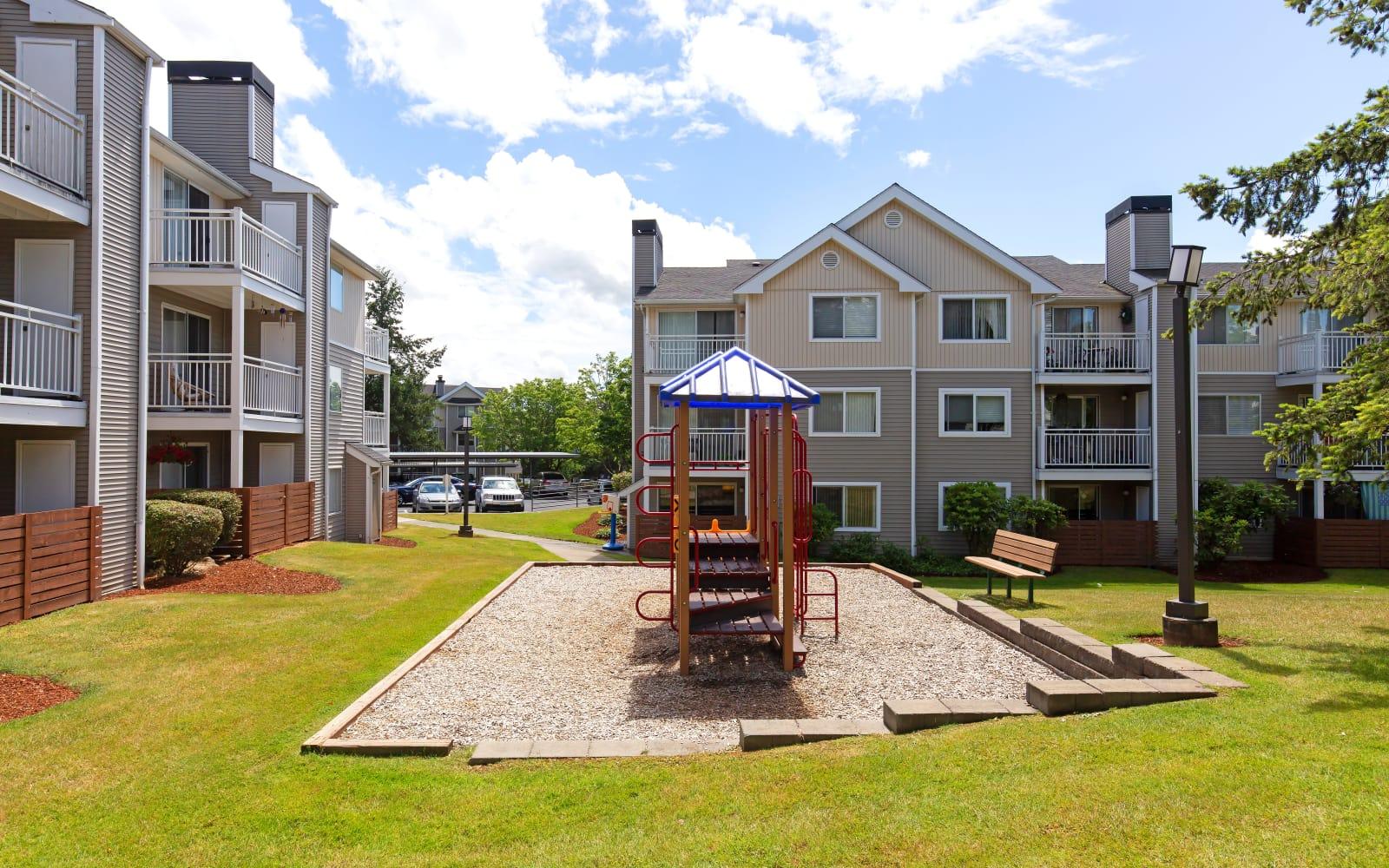 Playground at Alaire Apartments in Renton, Washington