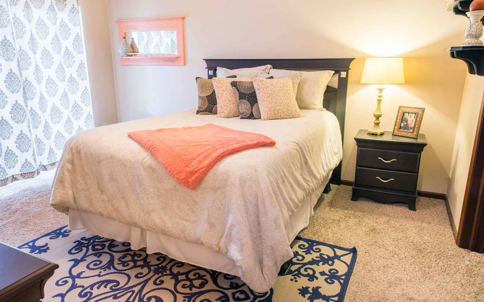 Spacious bedroom at Woodland Reserve in Ankeny, Iowa