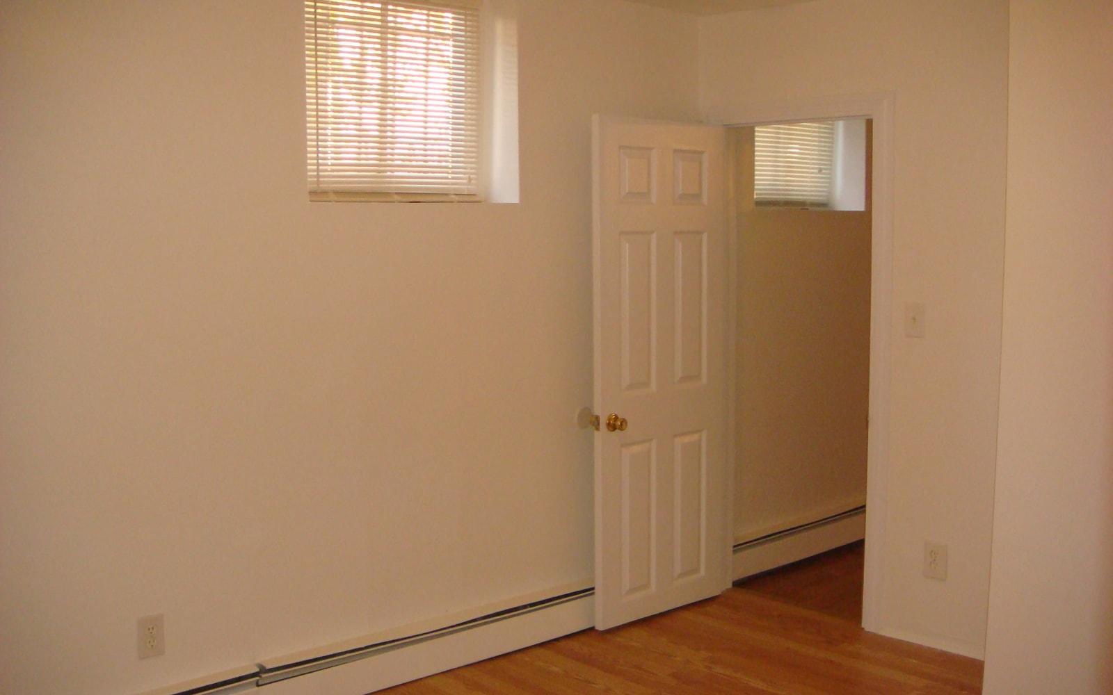 Open master bedroom layout at 400 Atlantic in Bridgeport, Connecticut