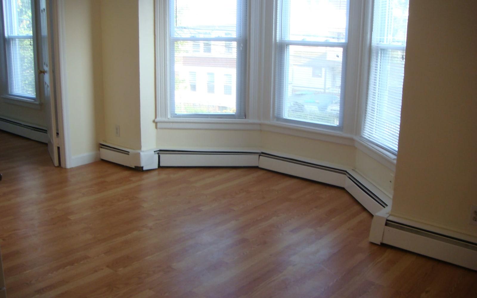 Large living room in Bridgeport, Connecticut at 400 Atlantic