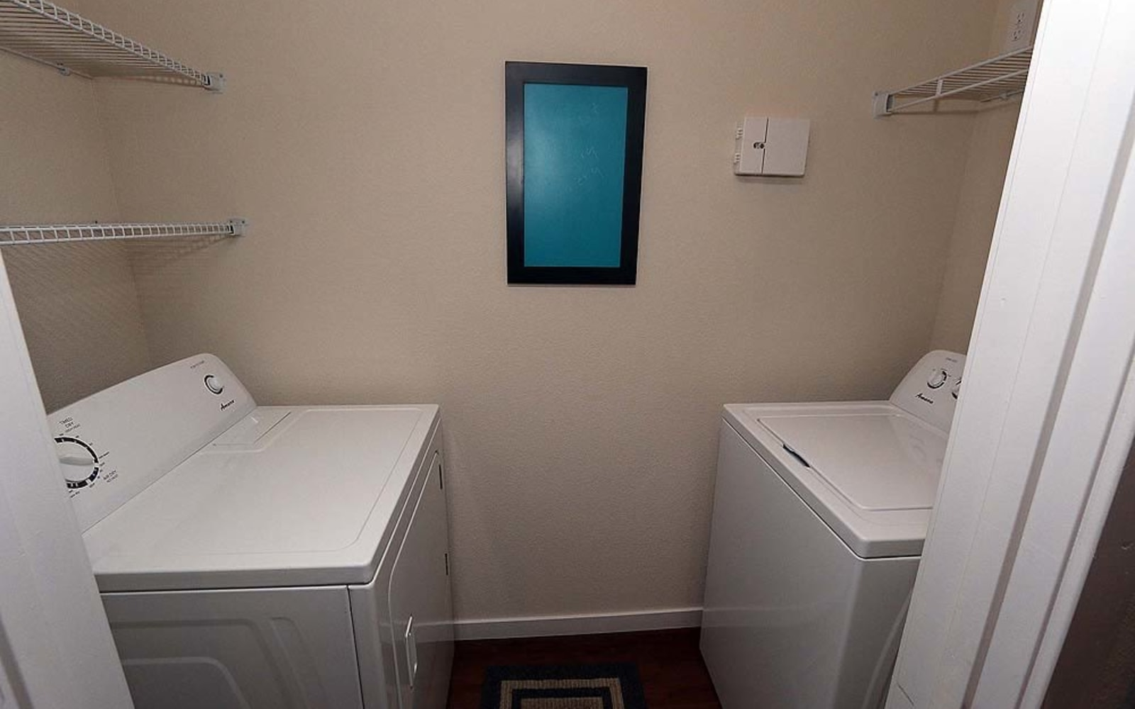 Washer and dryer included at Aventura at Mid Rivers in Saint Charles, Missouri.