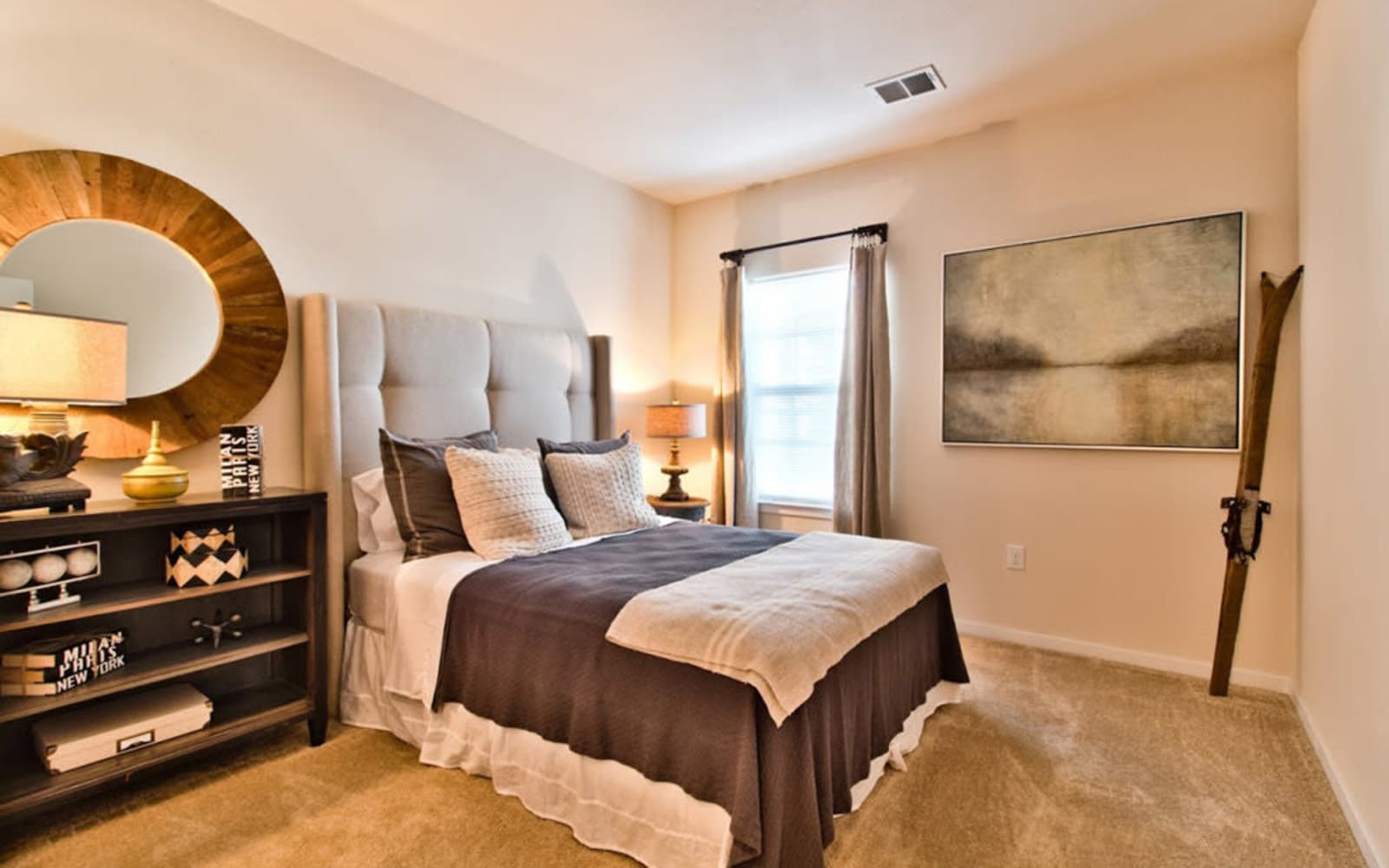 Spacious bedrooms at Aventura at Mid Rivers in Saint Charles, Missouri.