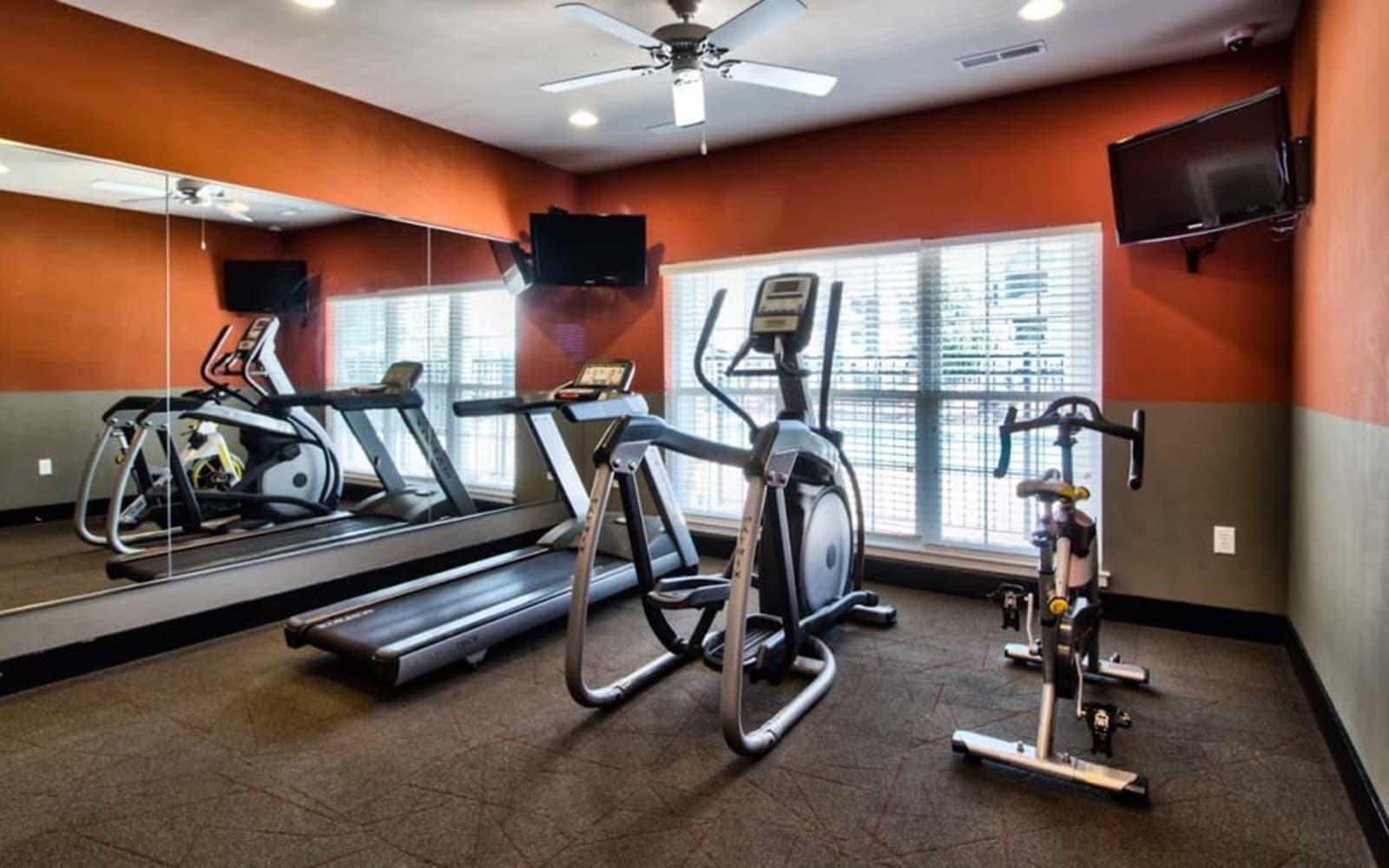 Resident fitness center at Aventura at Richmond in Saint Peters, Missouri.