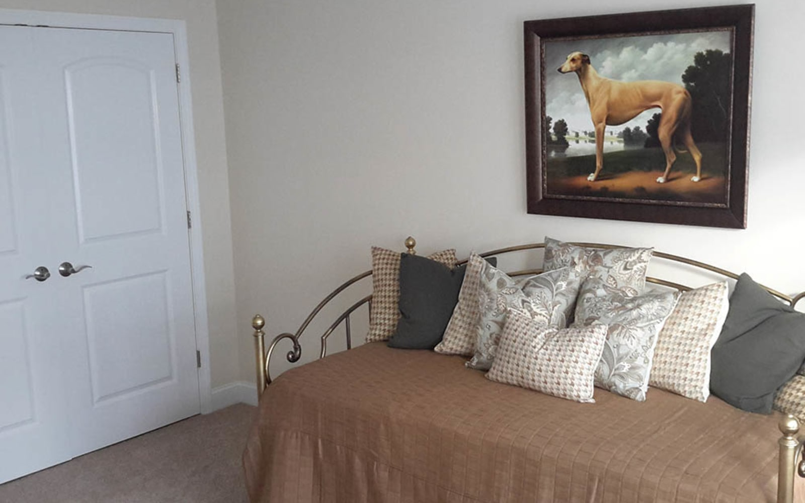 Bedrooms with large closets at Grassfields Commons in Dracut, Massachusetts