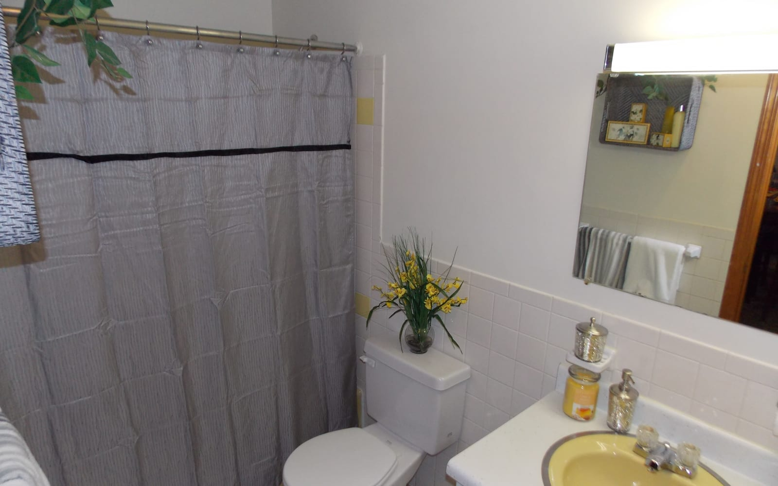 Clean, modern bathrooms at Westgate Arms Apartments in Salem, New Hampshire