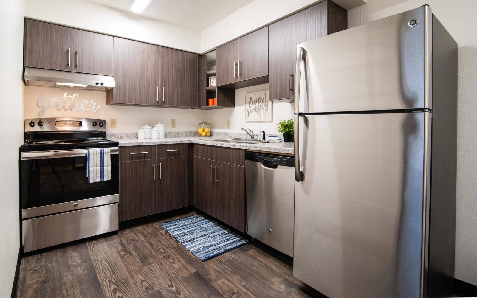 Kitchens at South Meadow in Ames, Iowa.