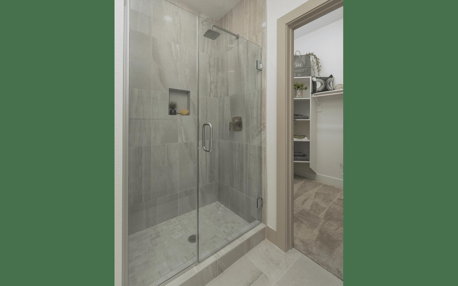 Elegant shower at The District at Scottsdale