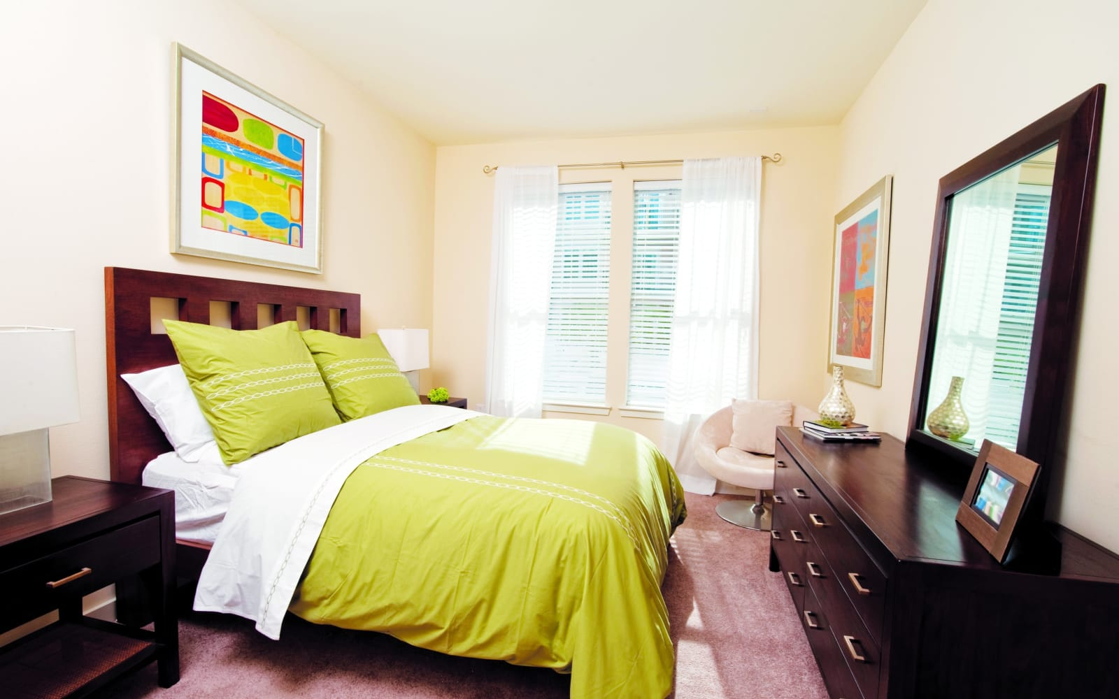 Bedroom layout at The Preserve in New Orleans, Louisiana