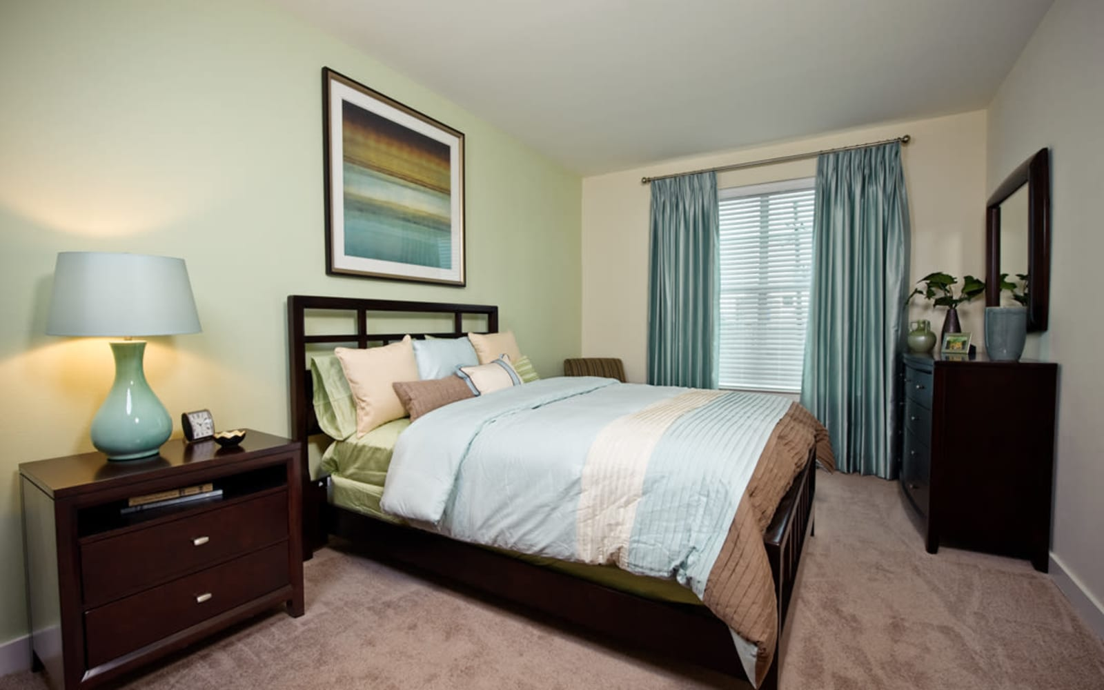 Master bedroom at Crescent Club in New Orleans, Louisiana
