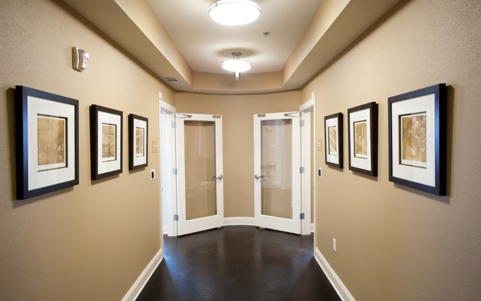 Hallway at Meridian in New Orleans, Louisiana