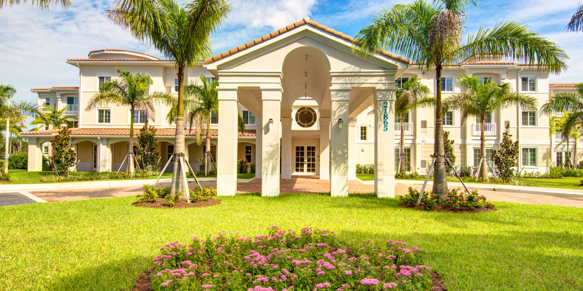The Meridian at Boca Raton senior living in Boca Raton, Florida