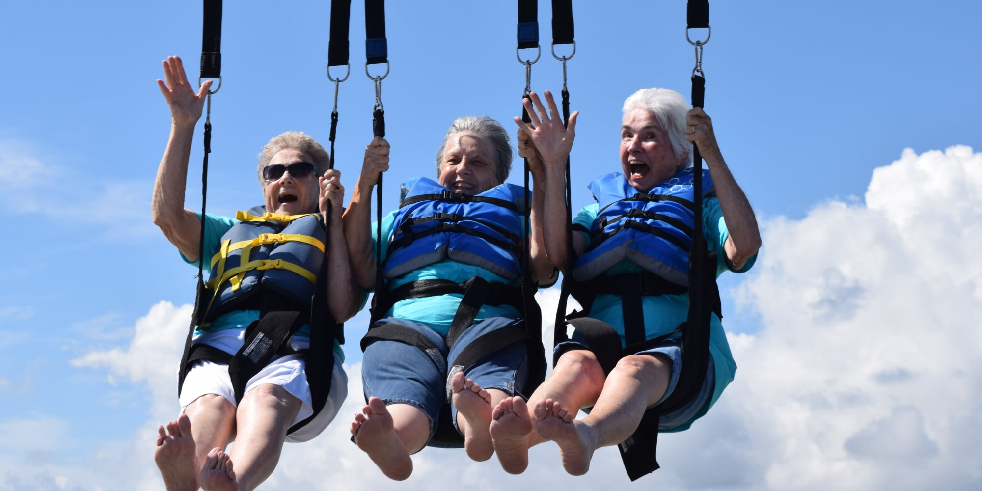 Residents of Camellia Gardens Gracious Retirement Living in Maynard, Massachusetts on an outing