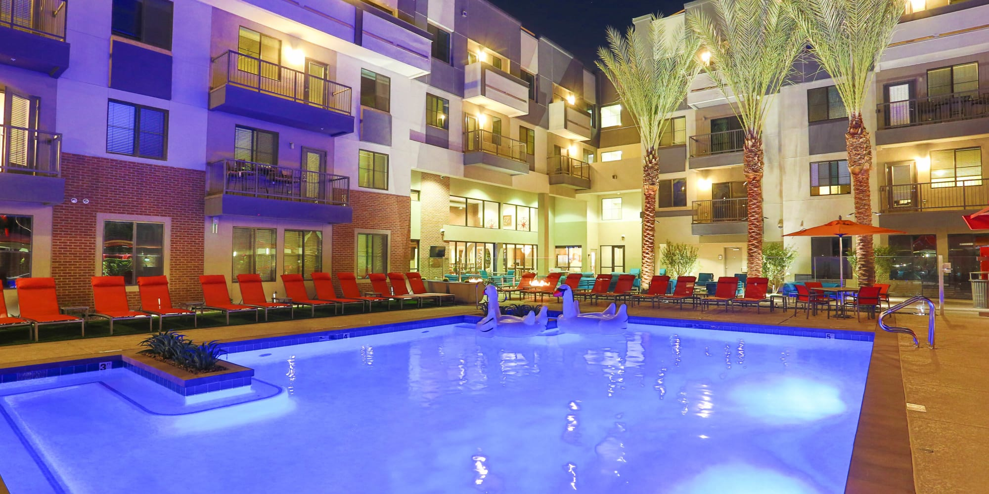 Olympus Steelyard apartments in Chandler, Arizona