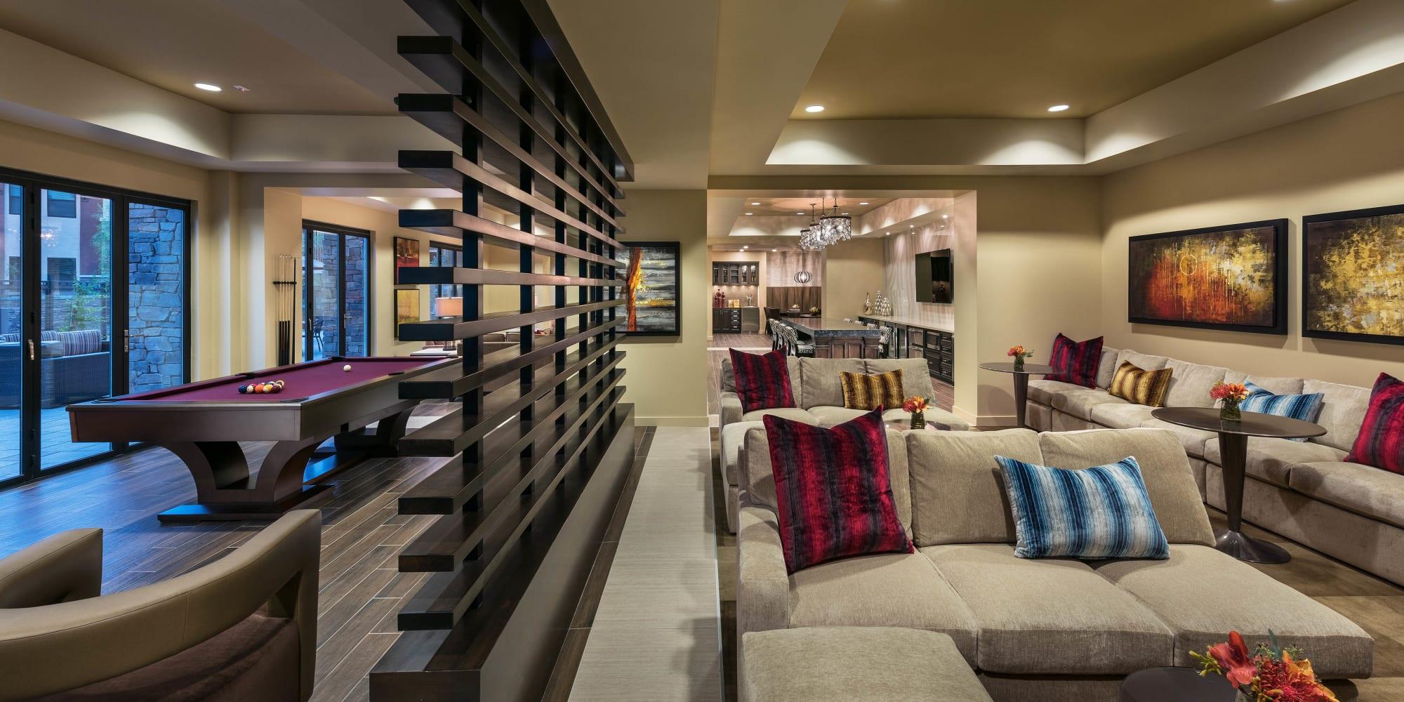 Apartments at Vistara at SanTan Village in Gilbert, Arizona