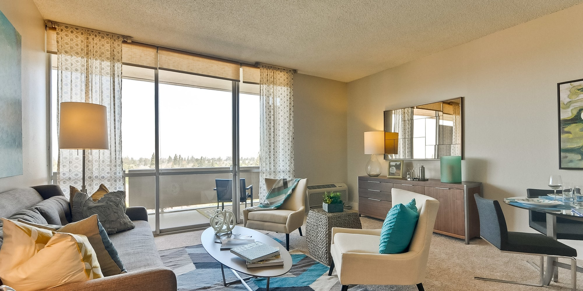 Luxury furnished apartments available at The Marc, Palo Alto in Palo Alto, California