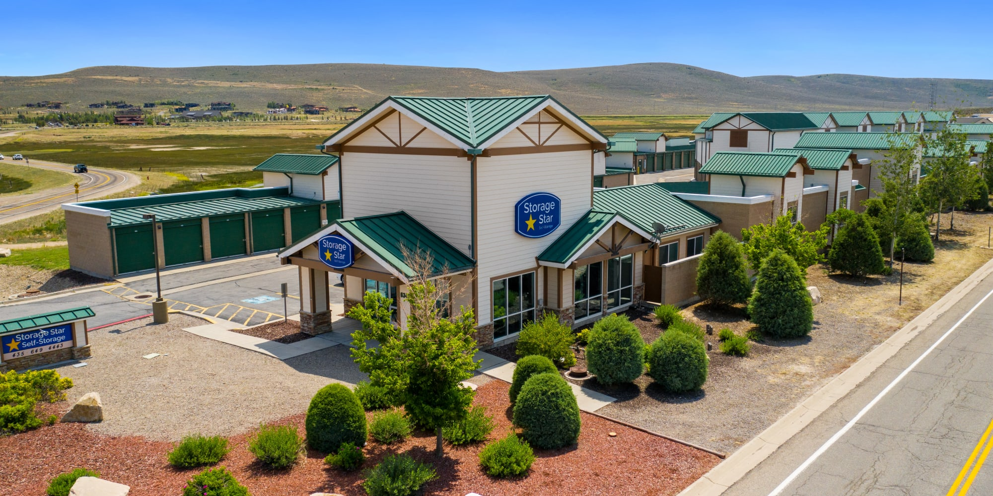 Self storage at Market Place Self Storage in Park City Utah