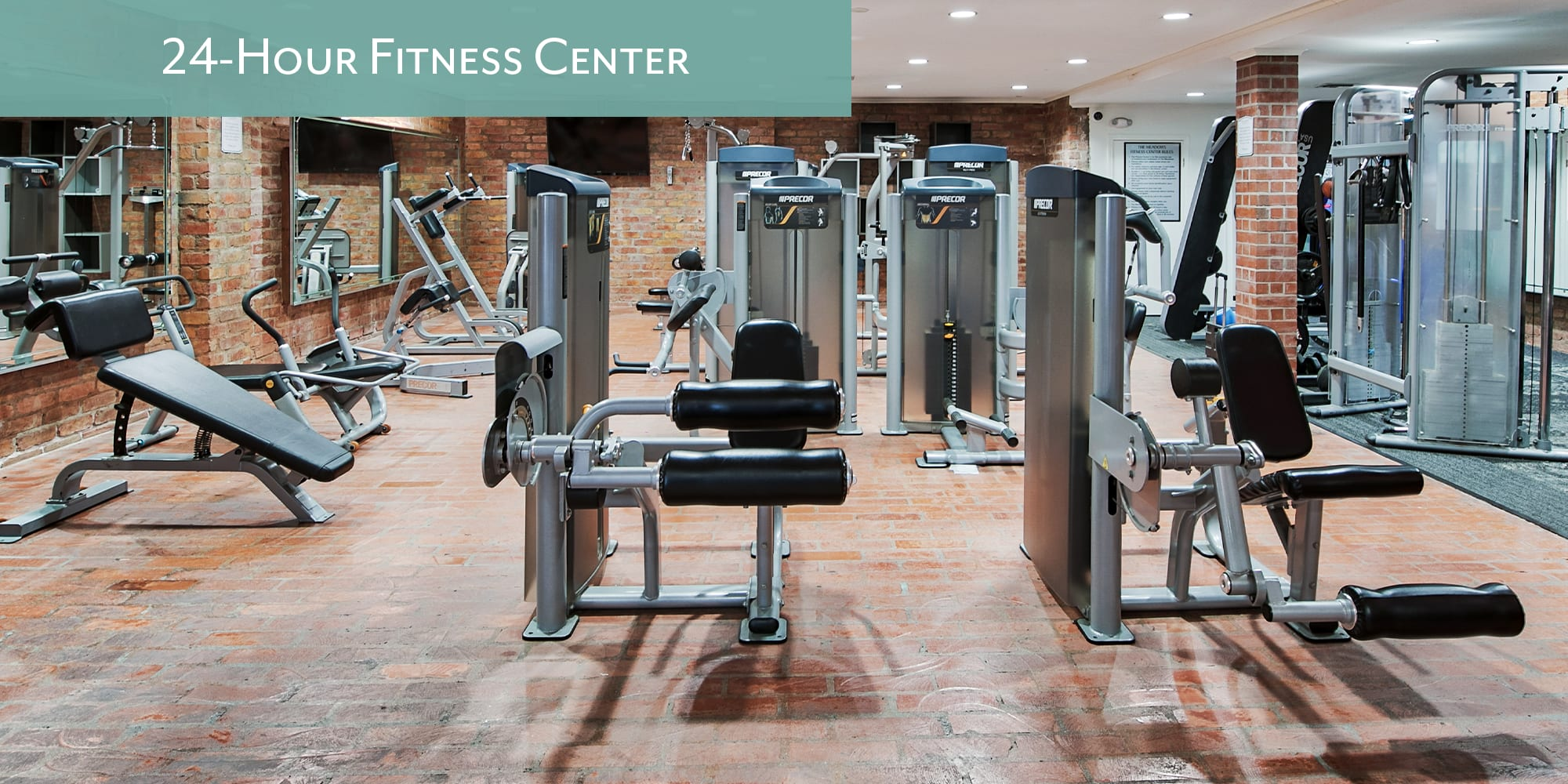 24-hour fitness center at The Meadows in Culver City, California