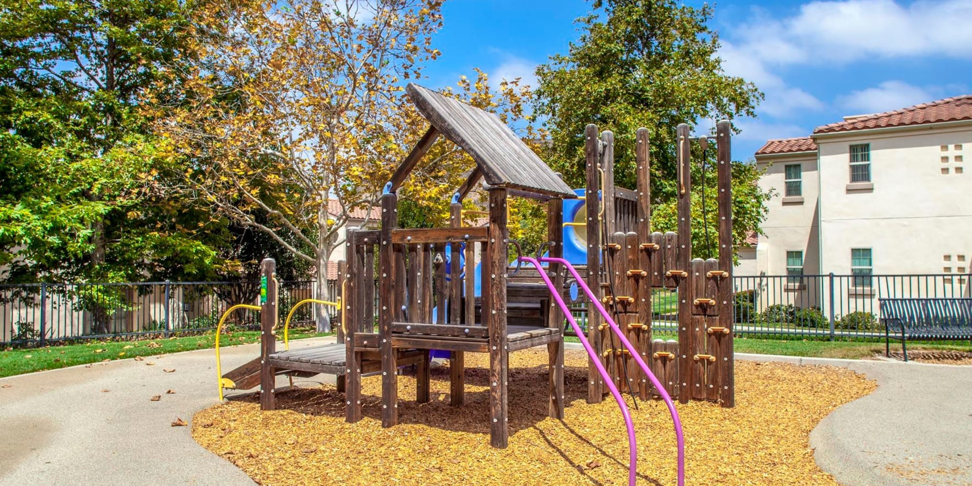 Onsite children's playground at Mission Hills in Camarillo, California