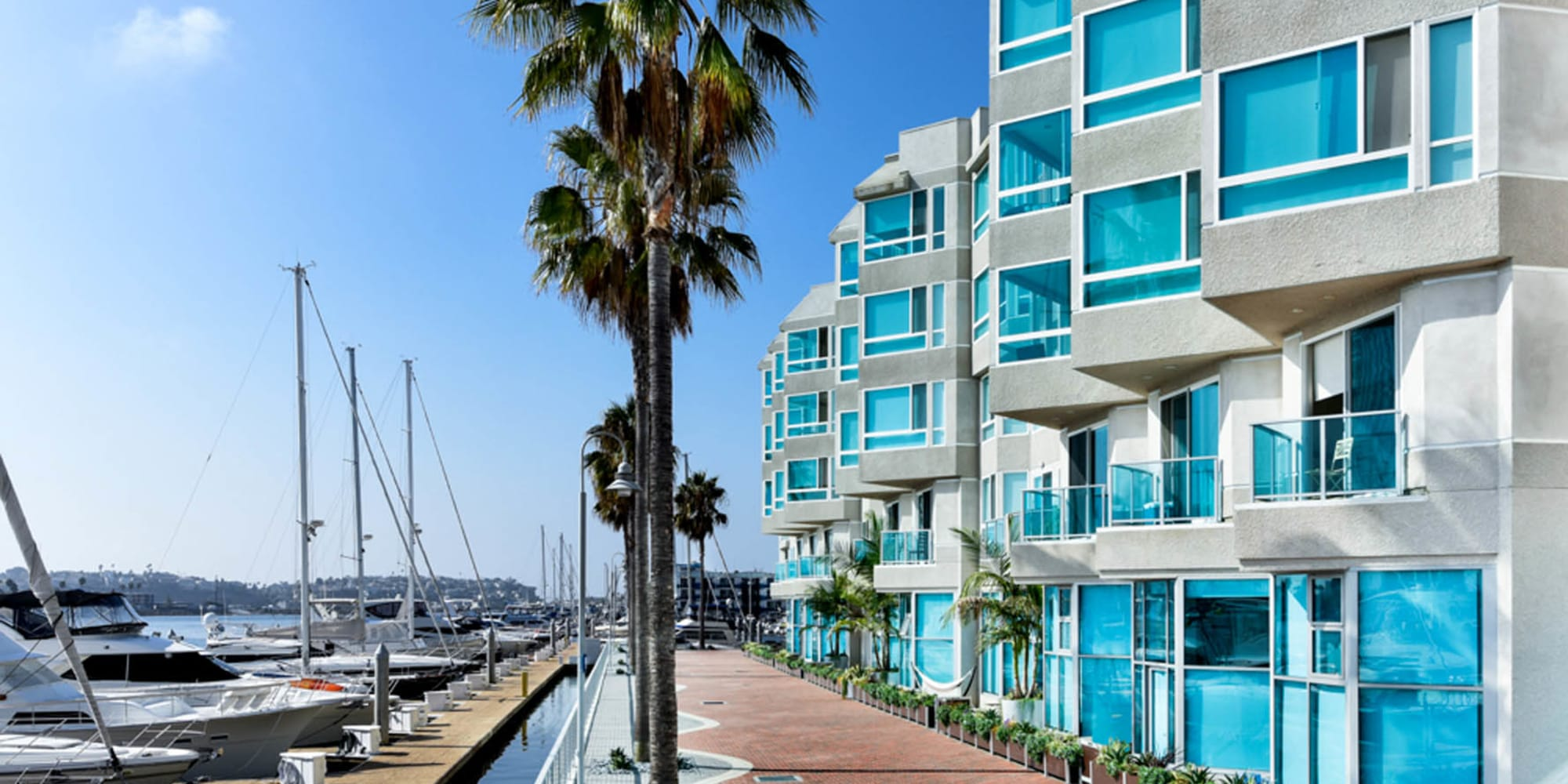 Incredible marina views at Esprit Marina del Rey in Marina Del Rey, California