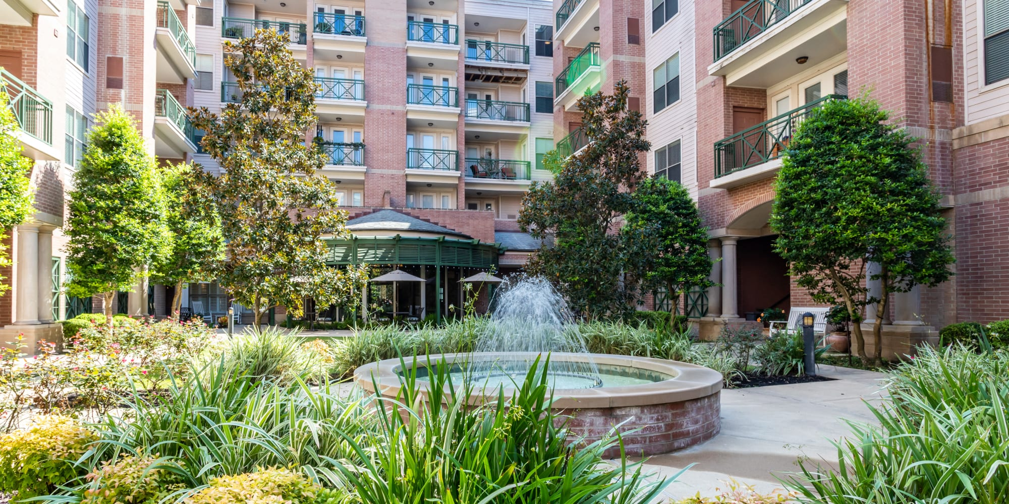 Senior living at The Village of Tanglewood in Houston, Texas
