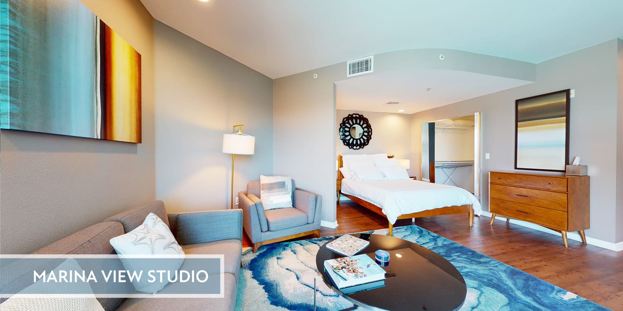 Spacious studio apartment at Esprit Marina del Rey in Marina del Rey, California