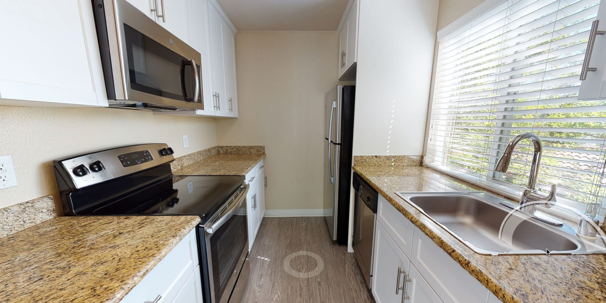 View a virtual tour of our 2 bedroom apartments at Valley Plaza Villages in Pleasanton, California