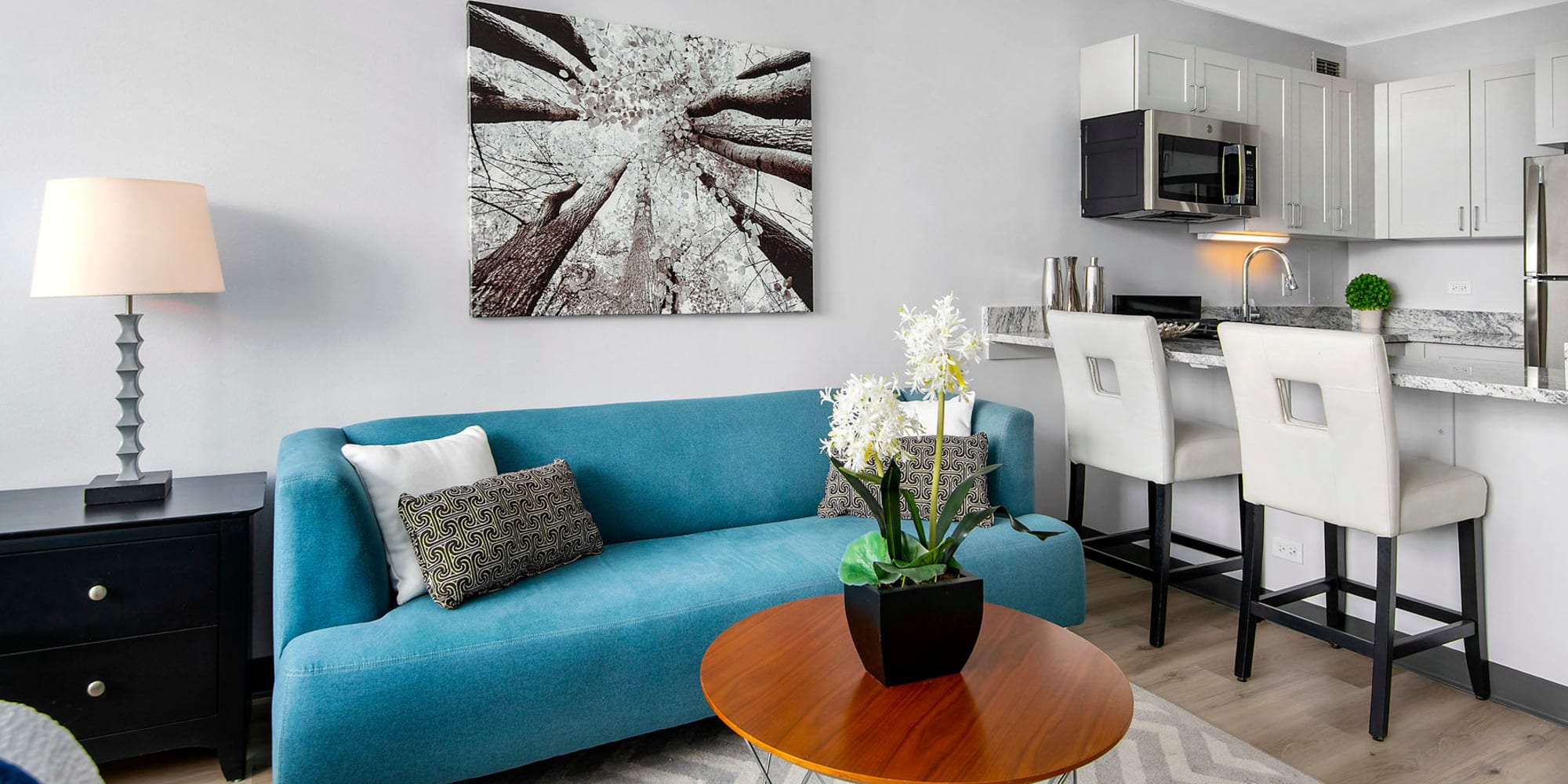 Apartments for rent at Prairie Shores in Chicago, Illinois