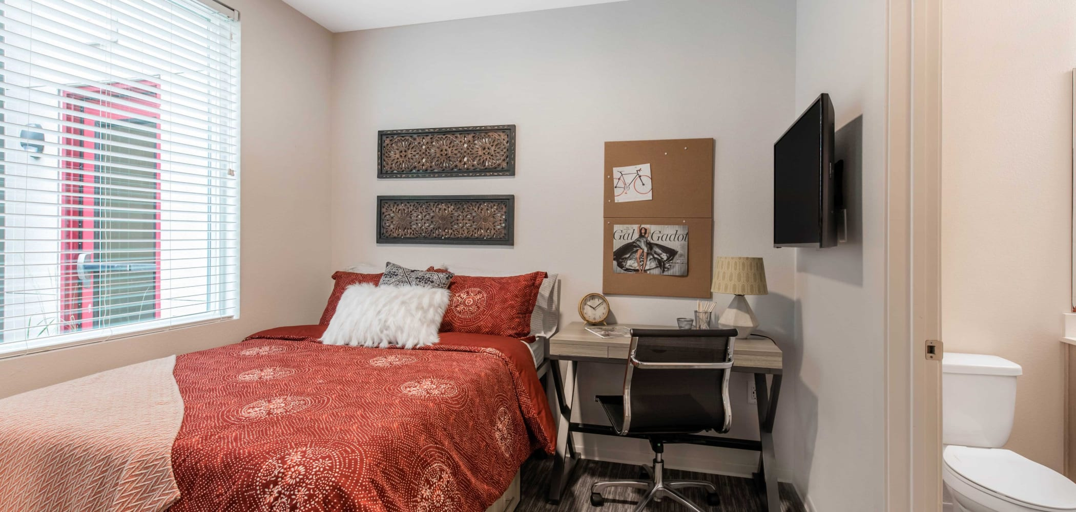Bedroom at UNCOMMON Fort Collins in Fort Collins, Colorado