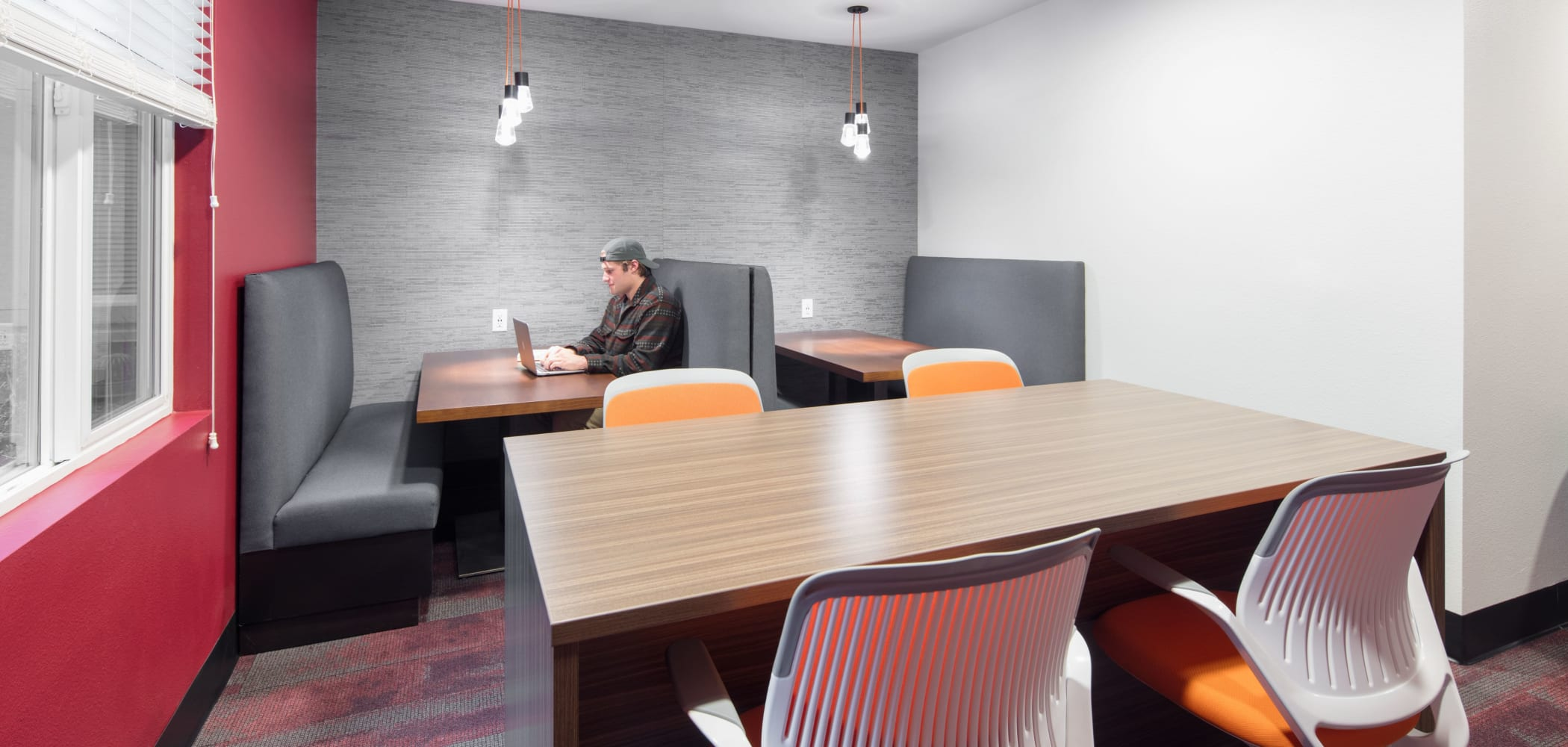 Private study room at UNCOMMON Fort Collins in Fort Collins, Colorado