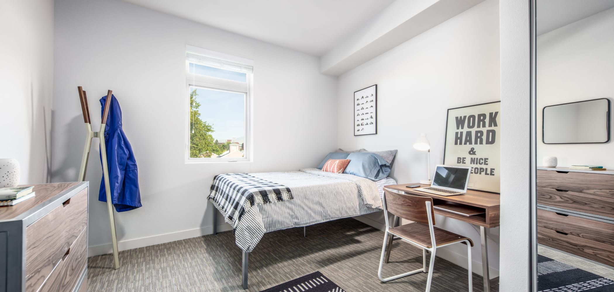 Well decorated bedroom at IDENTITY Boise in Boise, Idaho