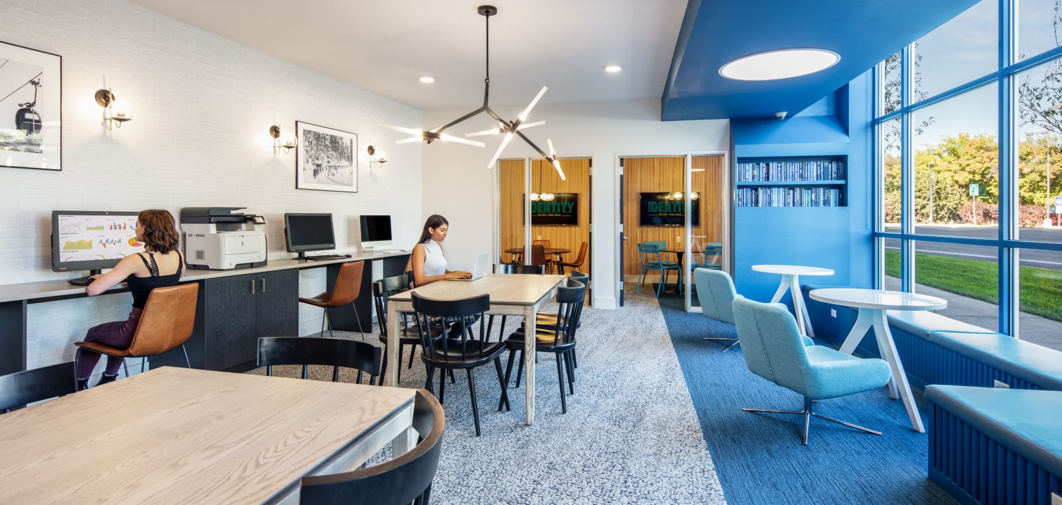 Onsite study space at IDENTITY Boise in Boise, Idaho
