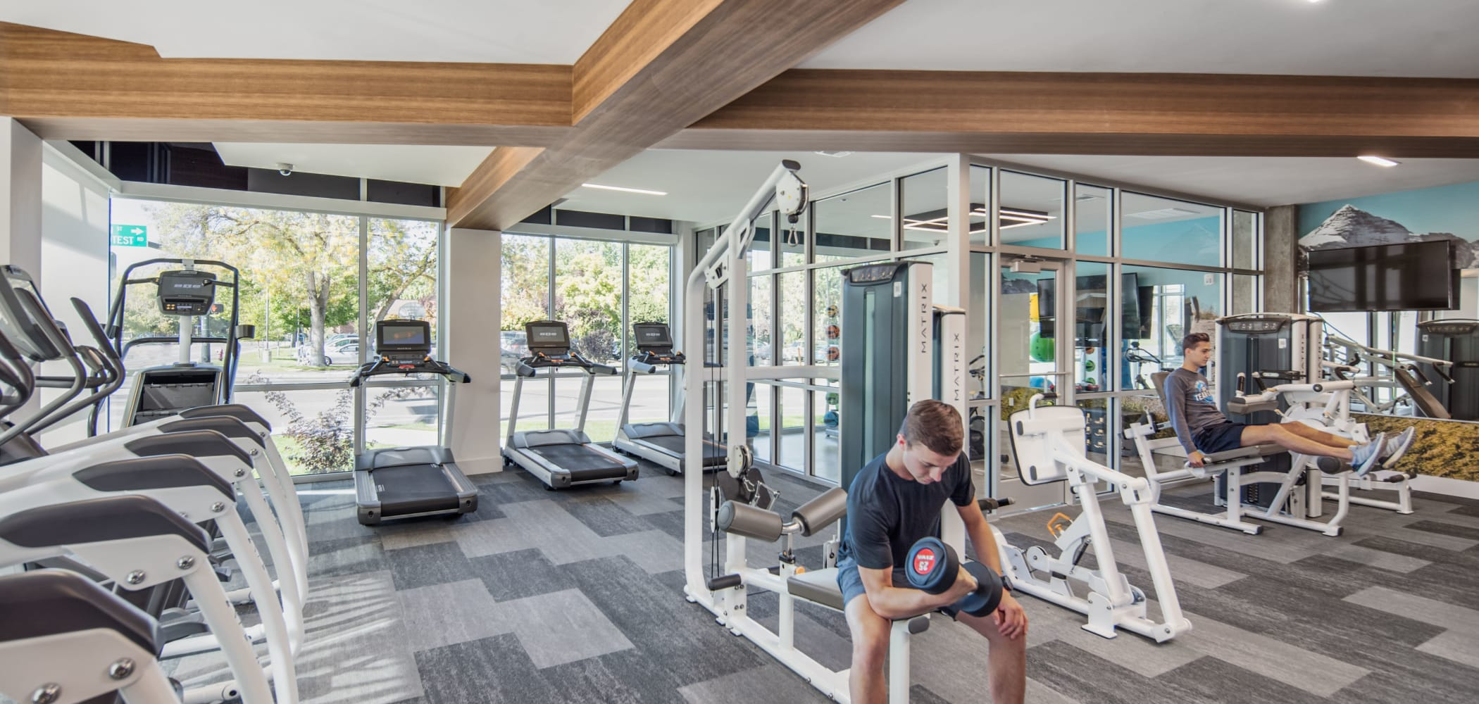 State-of-the-art fitness center at IDENTITY Boise in Boise, Idaho