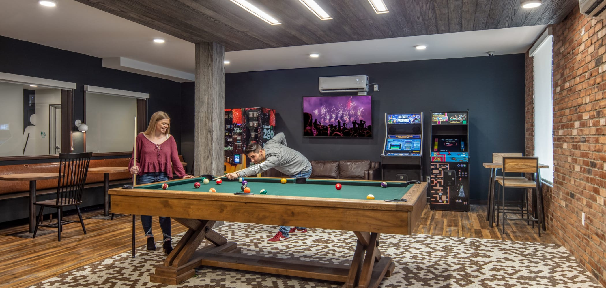 Game room at IDENTITY Moscow in Moscow, Idaho