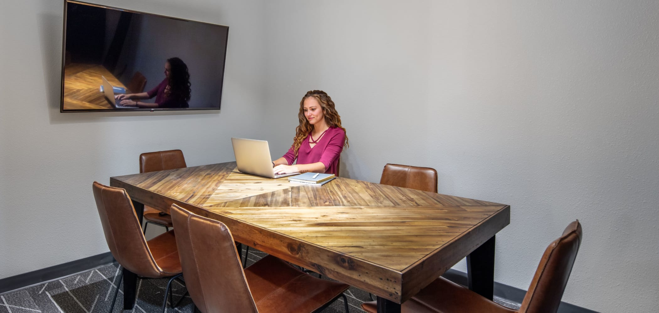 Private study room at IDENTITY Moscow in Moscow, Idaho