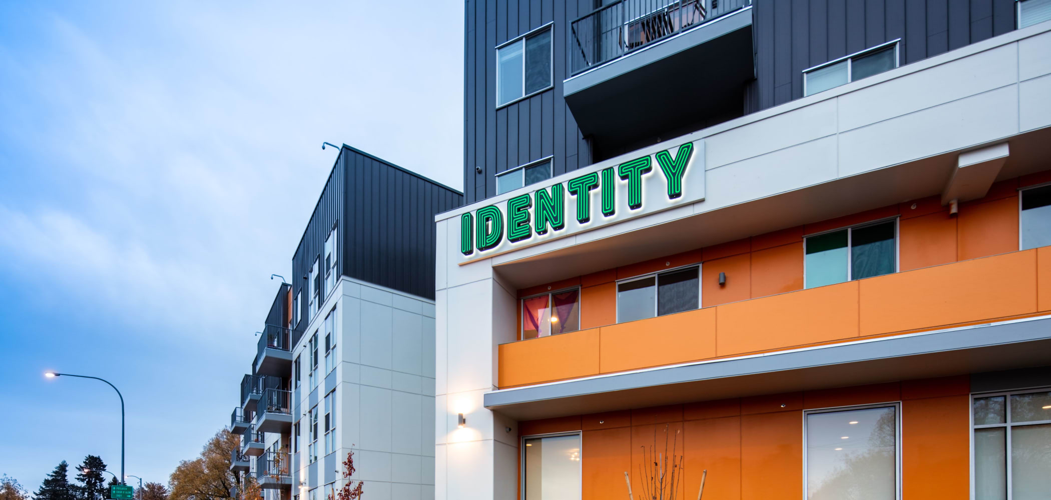 Exterior of IDENTITY Moscow in Moscow, Idaho