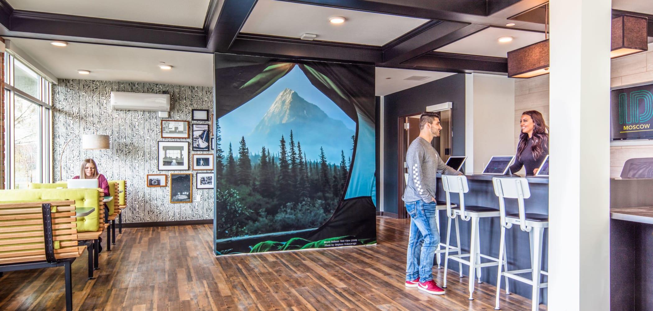 Lobby at IDENTITY Moscow in Moscow, Idaho