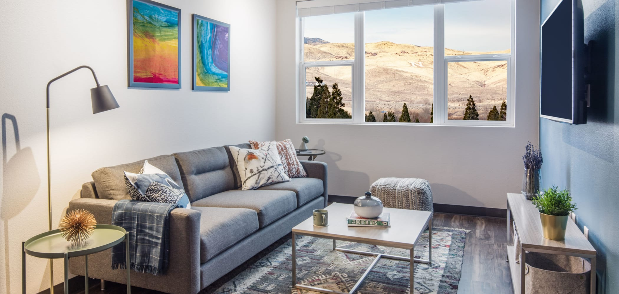 Living room with a view at IDENTITY Reno in Reno, Nevada