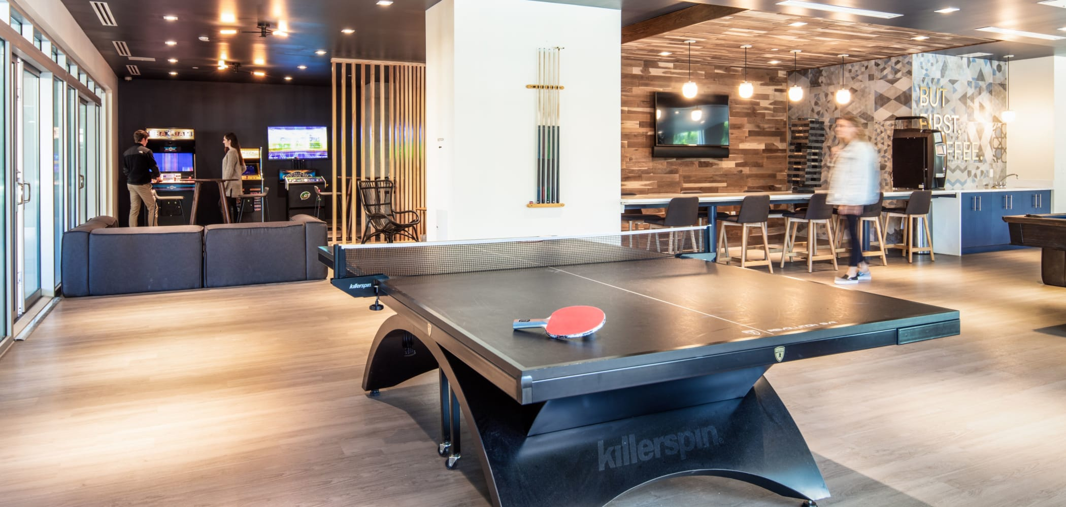 Ping pong table at RISE at State College in State College, Pennsylvania