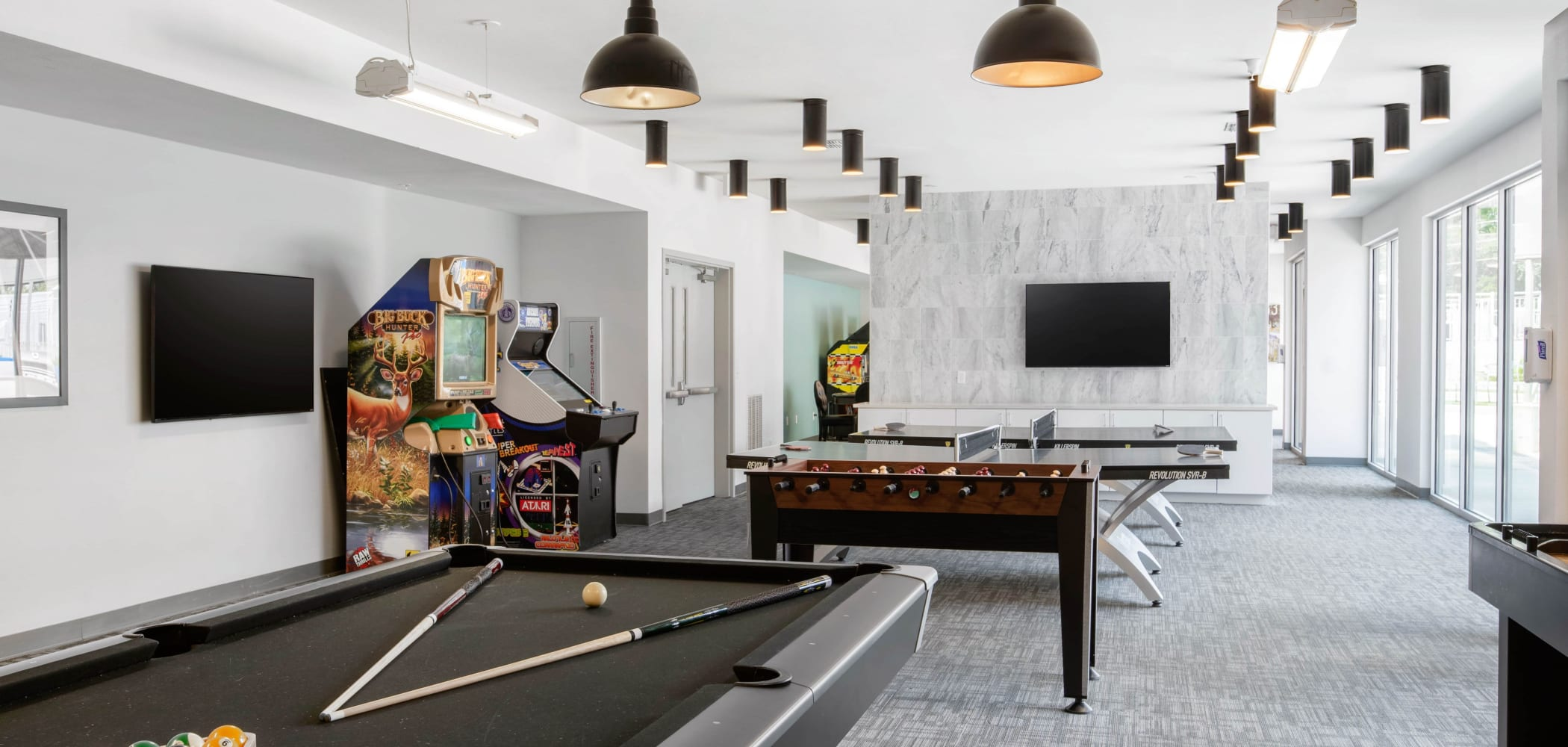 Game room at Onyx in Tallahassee, Florida