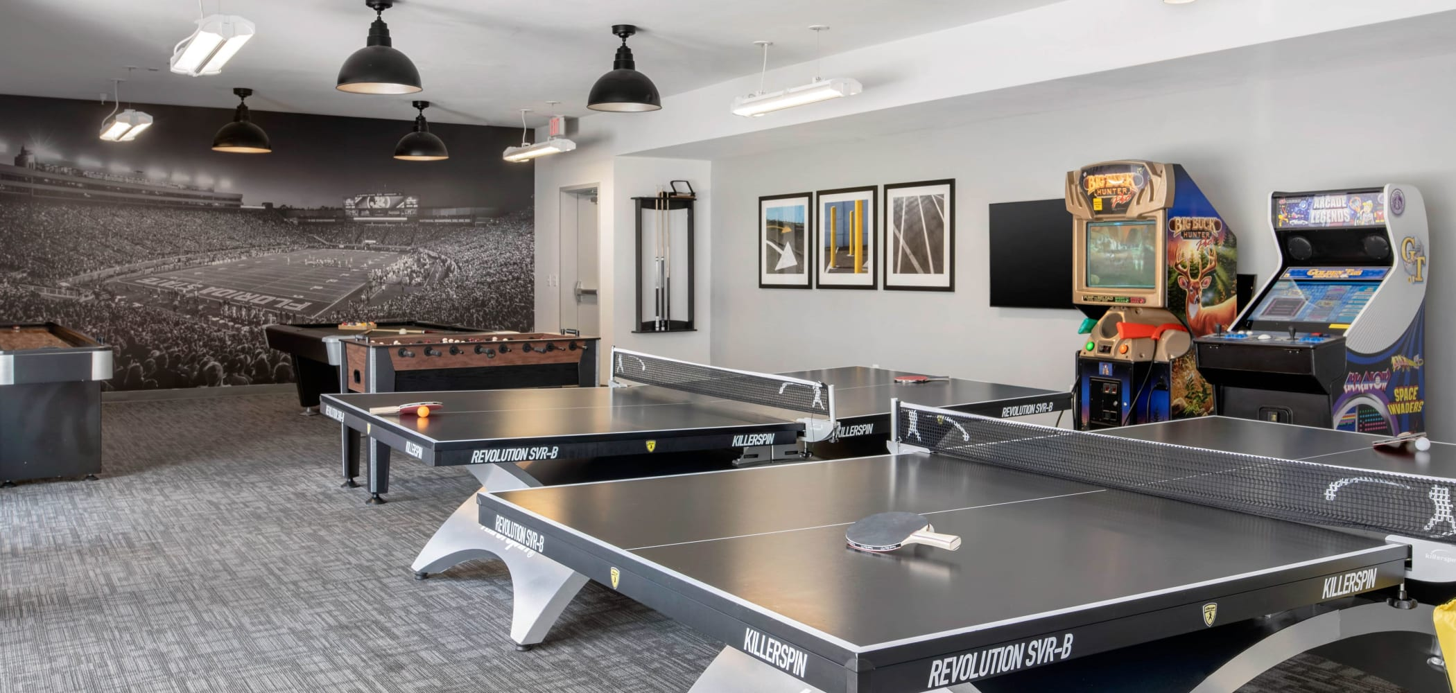Ping pong table at Onyx in Tallahassee, Florida