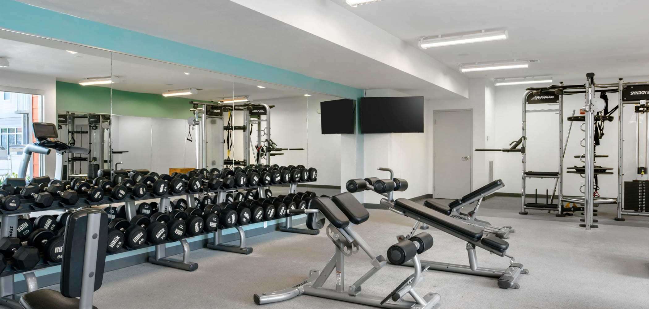 State-of-the-art fitness center at Onyx in Tallahassee, Florida