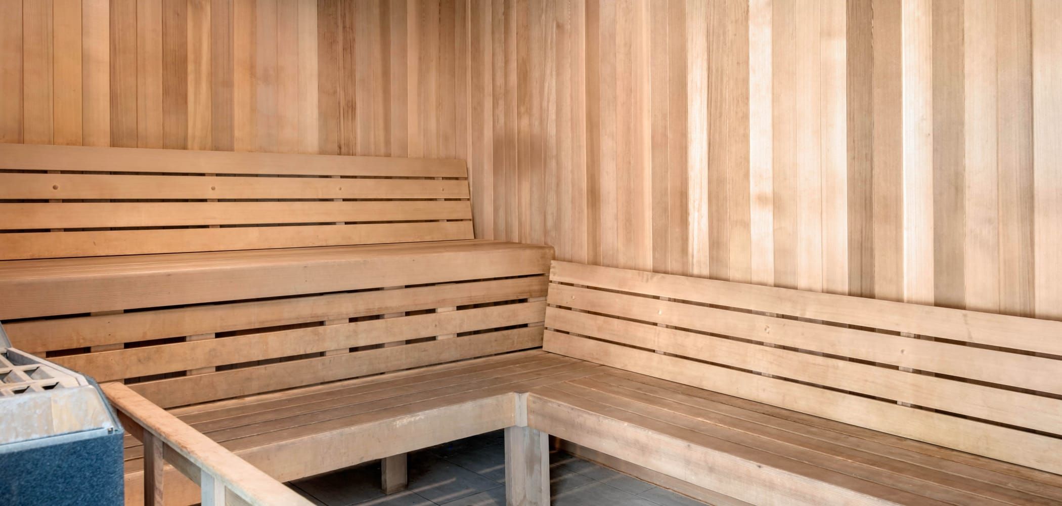 Sauna at Onyx in Tallahassee, Florida