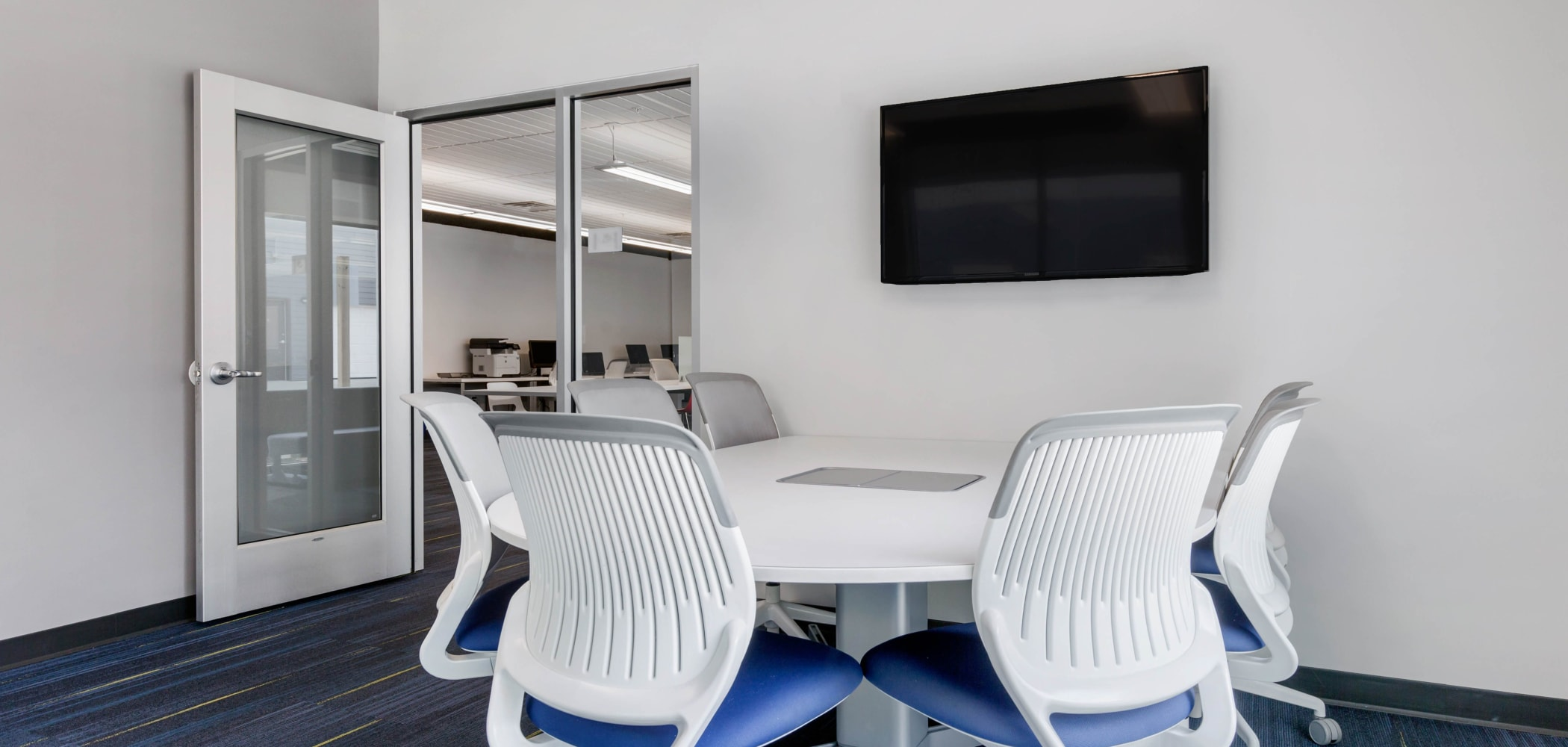 Private study spaces at West Quad in Champaign, Illinois