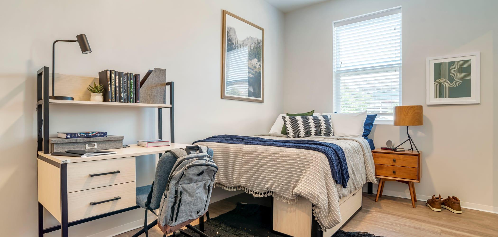 Fully furnished living spaces  UNCOMMON Tuscaloosa in Tuscaloosa, Alabama
